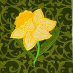 Daffodil Kitchen Towel