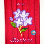 Lilac Kitchen Towel