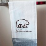 Grizzly Bear Kitchen Towel