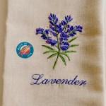 Lavender Linen Guest Towel