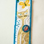 Cat Bookmark or Gift Tag