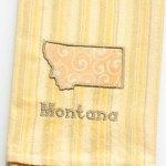 Montana State Tea Towel